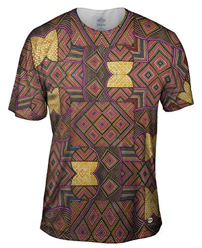Yizzam- Eugene Andolsek - Just Folk African Cloth -Tshirt- Mens Shirt-4X
