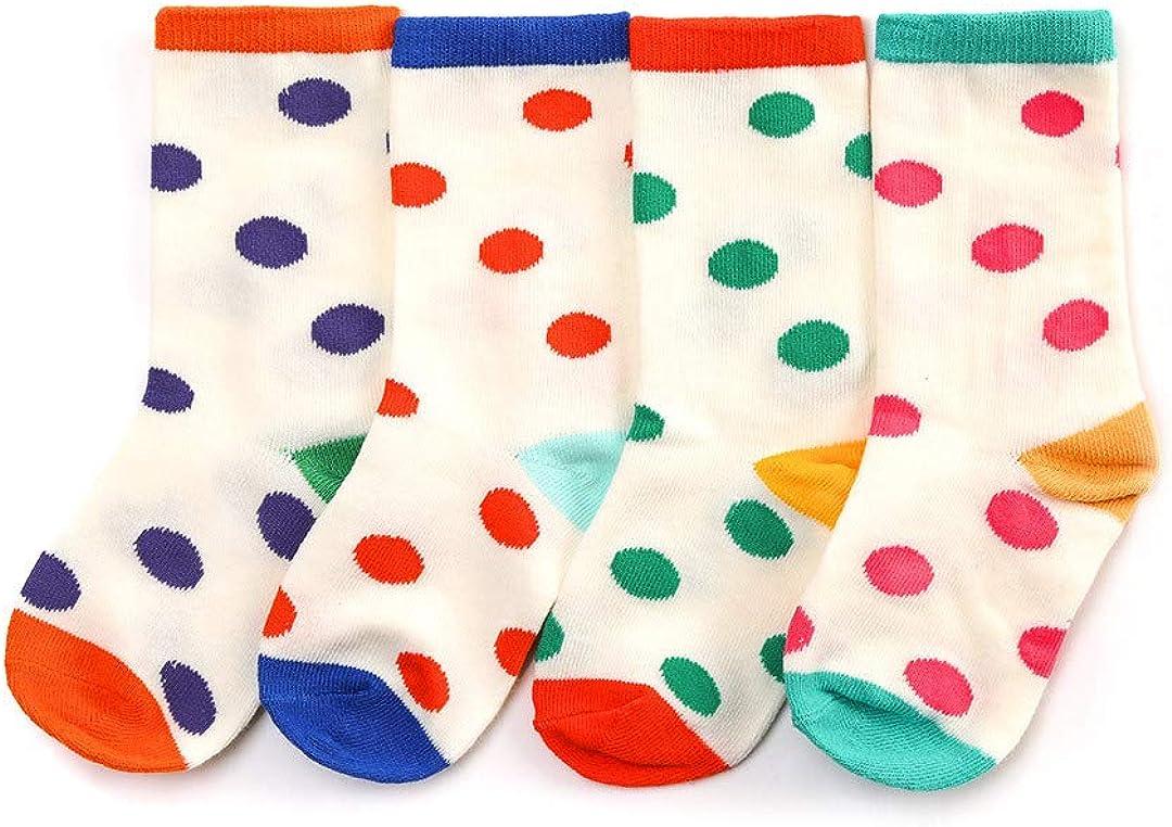 Dot Bean' Crew Socks for Kids