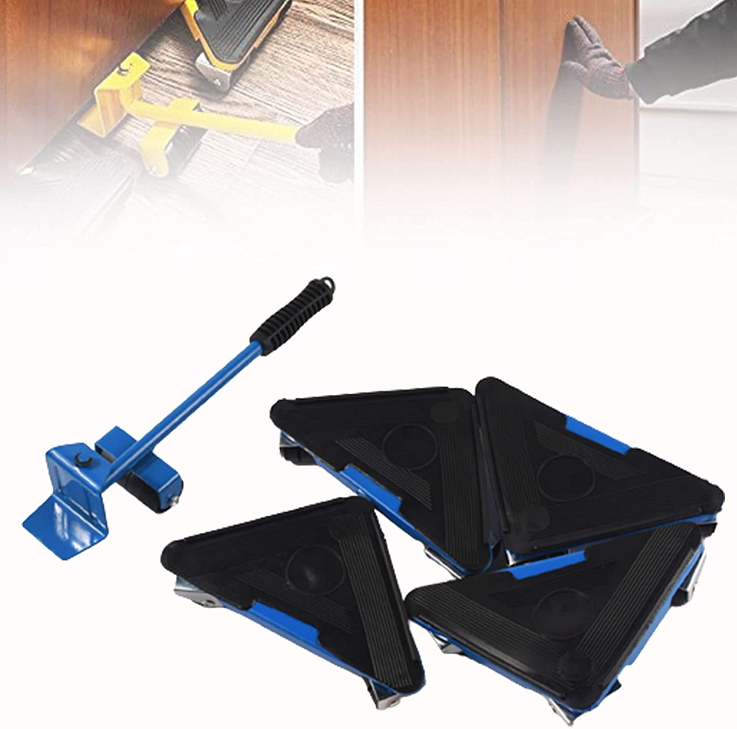 CSYHJRS Furniture Moving Tools with 4 Sliders, Furniture Moving