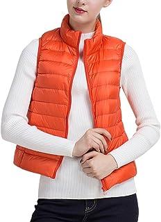 1ef7e0aae6e Ladies Gilet Body Warmer Women Down Vest Women Packable Lightweight Outwear  Vest with Pockets
