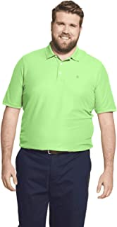 IZOD Men's Big Fit Advantage Performance Polo Shirt