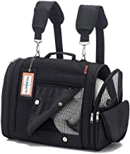 Prefer Pets: Hideaway Pet Travel Carrier Airline Approved Travel Carrier - Provides A Safe & Secure Way to Travel - Helps Reduce Pet's Fear & Anxiety