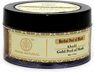 Khadi Natural Gold Peel Off Mask, 50g