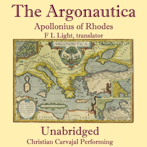 The Argonautica of Apollonius audiobook cover art