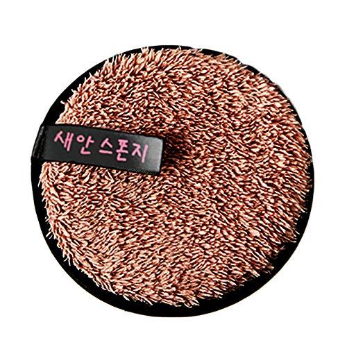 Gaddrt Microfibre Chiffon Serviettes nettoyant Visage Nettoyage Maquillage (Café)