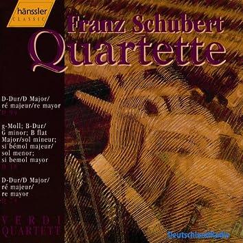 Schubert: String Quartets Nos. 1, 6-7