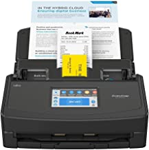 $411 » Fujitsu ScanSnap iX1500 Deluxe Color Duplex Document Scanner with Adobe Acrobat Pro DC for Mac or PC, Black (Renewed)