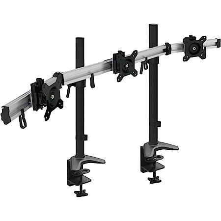 Hftek 3 Fach Monitorarm Halterung Halter Tischhalterung Computer Zubehör