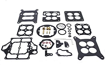 Carburetor Rebuild Kit for Carter WCFB 4 Barrel Buick Cadillac Corvette Pontiac Chrysler Dodge Ethanol Tolerant fits Marine Carburetors 2365 2628 3585