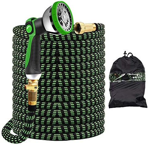 Give Me 150FT Garden Hose Expandable Garden Hose 150FT Hose with 10 Function Spray Nozzle Durable product image