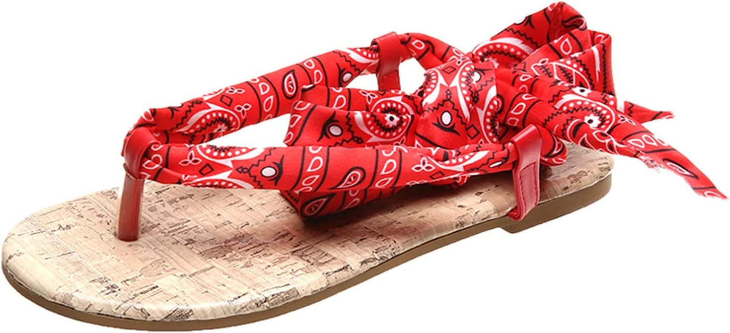 XUELIXIANG Flat Sandals for Women Large S Dressy Indefinitely Summer High quality