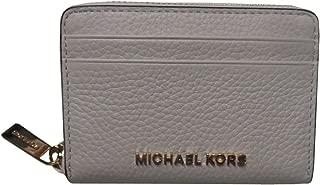 Michael Kors Jet Set Travel Zip Around Card Case Vanilla