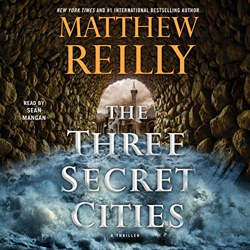 The Three Secret Cities  By  cover art