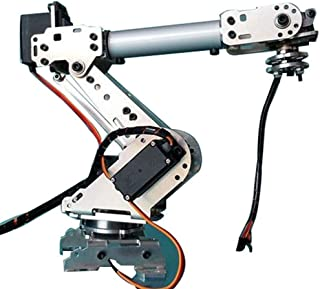Electronic Toys B Blesiya 6 DOF Robot Arm Mechanical Kits