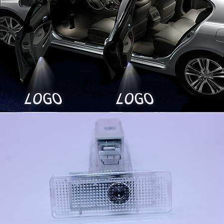 Kvch 2 Stück Willkommen Licht Led Autotür Projektor Logo Geister Schatten Lichter Für B M W G20 G21 2020 Mit Tür Polsterung Entferner Auto