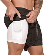 Best 2 in 1 basketball shorts Reviews
