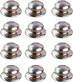 Shuny Perilla de La Tapa de La Olla 10pcs, Pomo para Tapa de Cacerola, Tapa De La Tapa de La Tapa de La Olla Manija Manija de La Cocina Reemplazo, Acero Inoxidable perillas de Tapa
