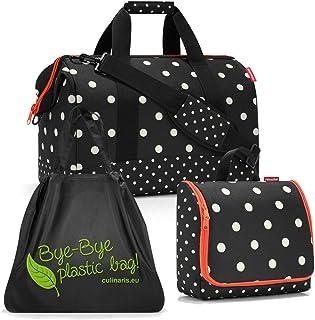 reisenthel Gilching reisenthel allrounder L mit toiletbag XL und wahlweise mit extra Zugabe Reisetasche Waschtasche mixed dotsloftbag
