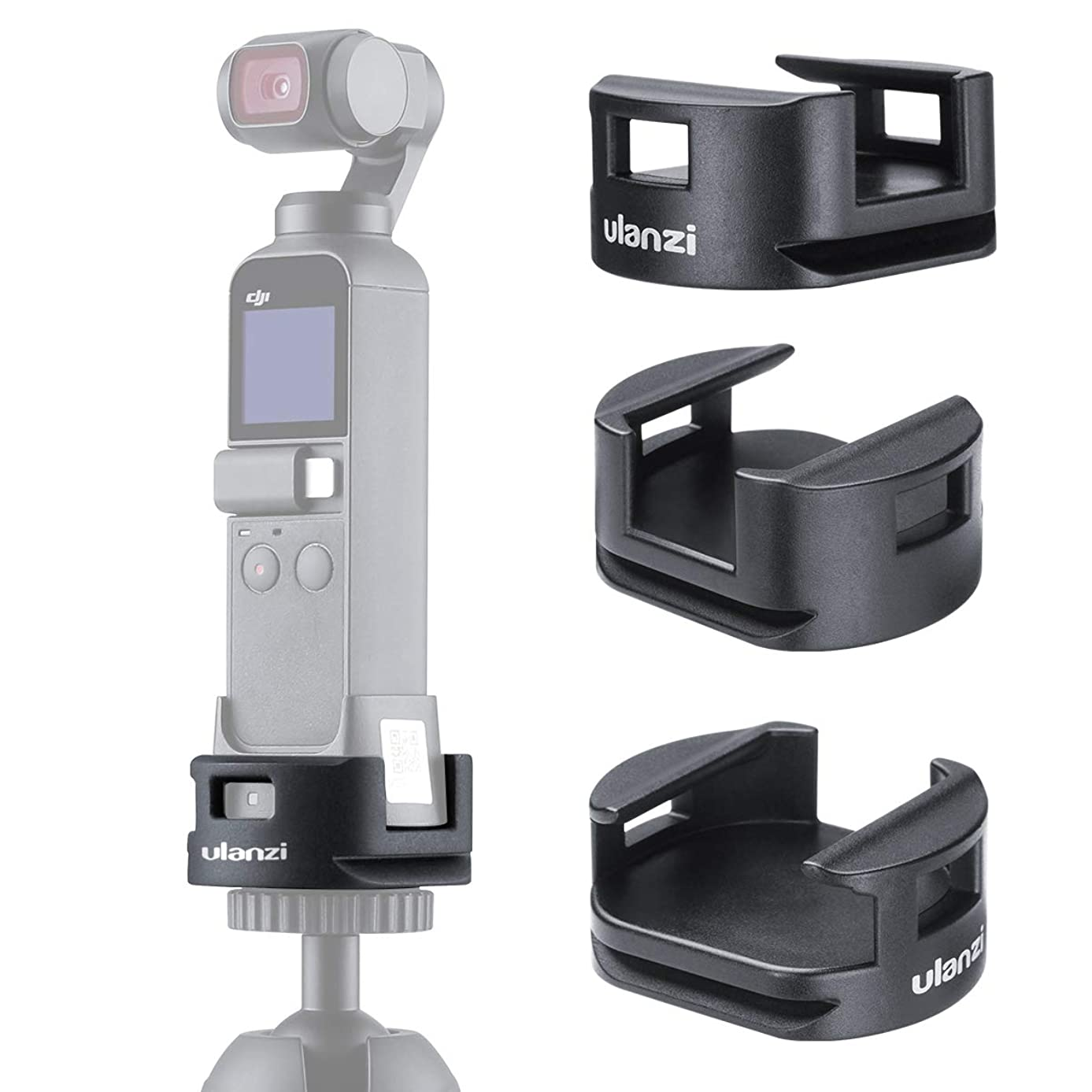 ZUCRQ OP-4 OSMO Pocket WiFi Base Tripod Adapter,Wireless Module Base Compatible for DJI Osmo Pocket Gimbal Accessories