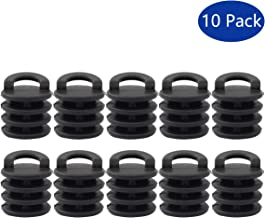 XtremeAmazing Pack of 10 Kayak Marine Boat Scupper Stoppers Plugs Bungs Replacement for Kayak Canoe Boat Drain Holes
