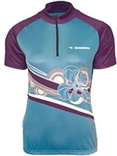 Diadora Women's Diadora Ladies Dana Cycling Top Shirt Light Blue