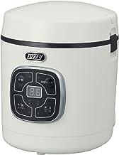 【Toffy/トフィー】 マイコン炊飯器 K-RC2 (アッシュホワイト) マイコン式 コンパクト 1.5号 30分 発酵モード 予約タイマー付き 着脱式電源コード レトロ かわいい K-RC2-AW