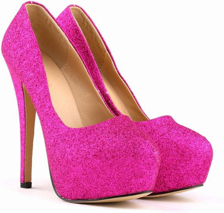 Glz High Heels 14cm Super High Heels Schuhe für Damen Modelle Stilettos