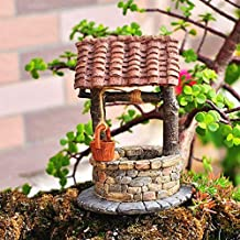 My New Fairy Miniature Expressions Miniature Fairy Garden Tile ROOF Fairy Water Well (New) - My Mini Garden Dollhouse Acce...