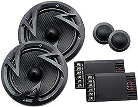 "Power Acoustik EF-60C Edge Series 6.5"" 500-Watt 2-Way Component Speaker System , BLACK photo"