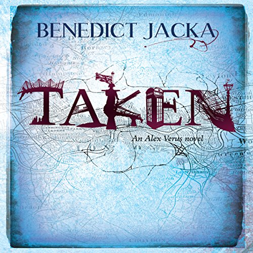 Taken audiobook cover art