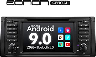 Car Stereo Eonon 7 Inch Single Din Car Stereo, Android 9.0 Car Radio, 32GB ROM GPS Navigation for Car Support Android Auto/Apple Carplay/Bluetooth 5.0/WiFi/Fast Boot/DVR/Backup Camera/OBDII-GA9349