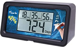 AIMILAR Digital Countdown Days Timer - 9999 Days Count Down Days Timer With Backlight for Retirement Wedding Vacation Christmas New Baby Classroom Lab Kitchen Cooking (Retirement)