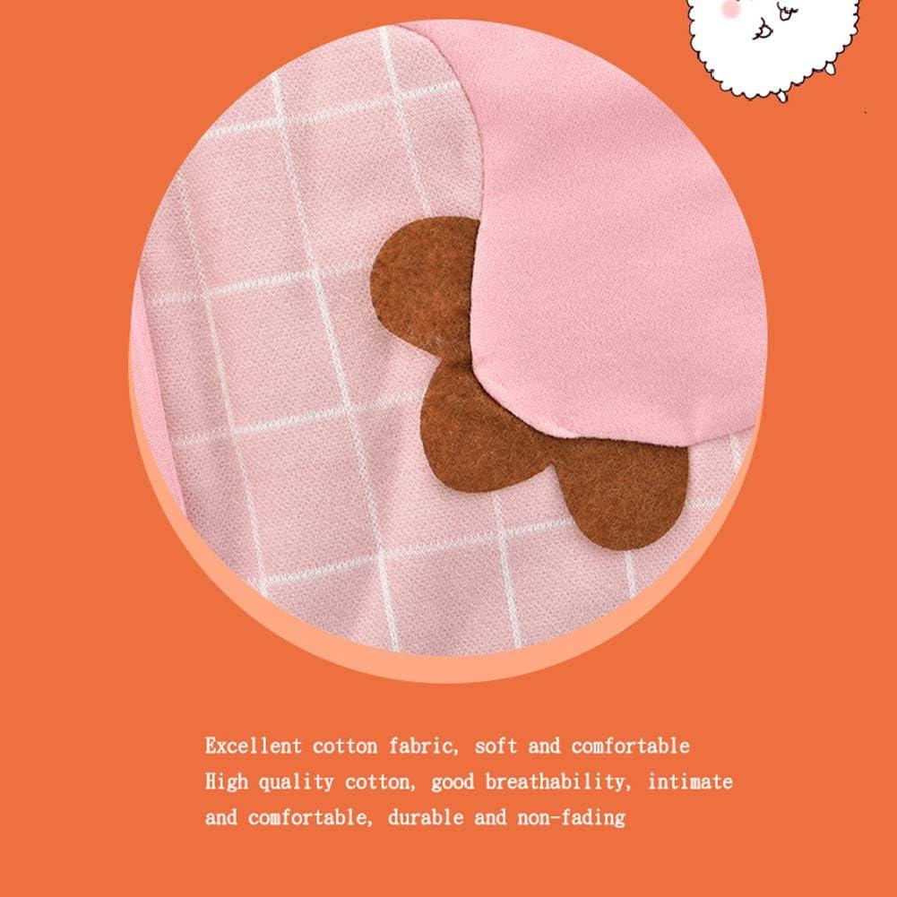 Coton Peigné Manches Amovibles Matelassé Matelassé Anti-coups De Couette Automne Et Hiver Sac De Couchage Bébé Jambes Sac De Couchage Coton Bébé (Rose) Rose