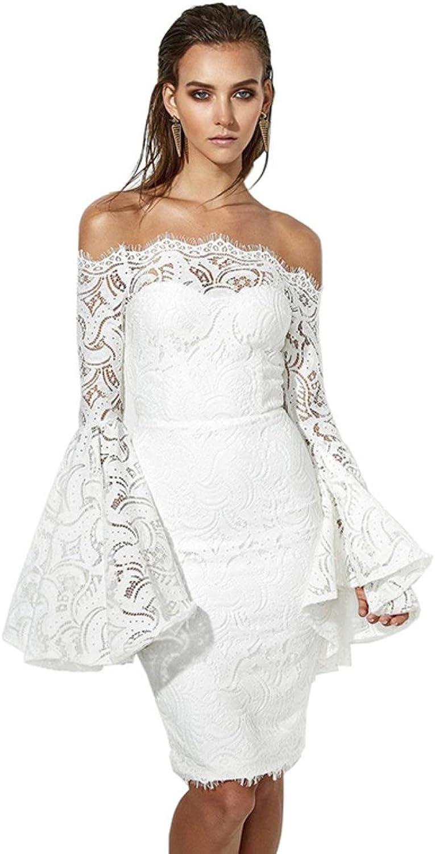 KHGYSJ Women White Elegant Party Dresses Sexy Slash Neck Bodycon Dress Vestidos women
