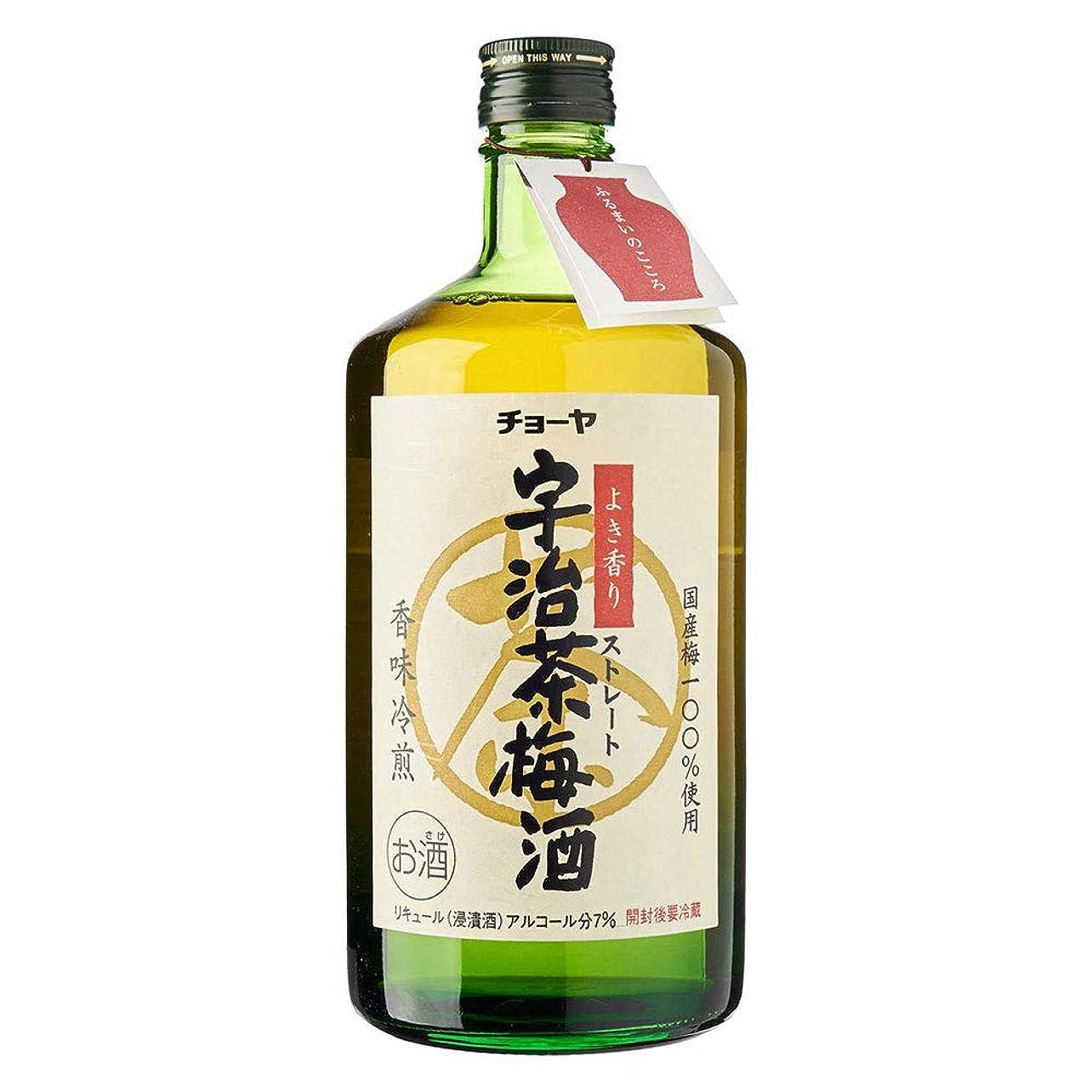 シャワーアクティビティコンサートチョーヤ 宇治茶梅酒 [ 720ml ]