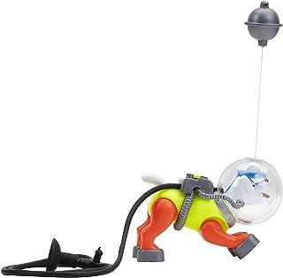 Penn Plax Aerating Action Ornament, Diving Sea Dog – Colors May Vary