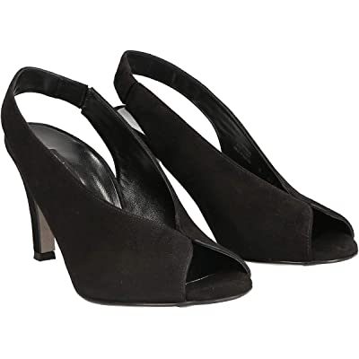Paul Green Avanti Heel (Black Suede) Women