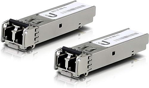 Ubiquiti Networks UF-MM-1G Module émetteur-récepteur de réseau Fibre Optique 1250 Mbit/s SFP 850 nm - Modules émetteu...