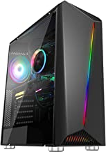 Ssrotho Business PC Gaming Desktop Tower Computer, Intel...