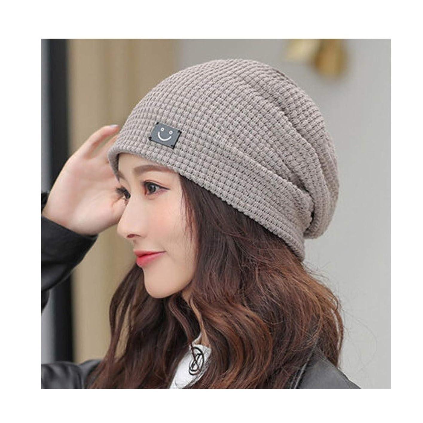 カップほこり荒らすKYK 秋と冬の帽子、女性、冬、帽子の山、女性のウールの帽子、かわいい甘いファッション旅行帽子、冬暖かいスカーフカジュアル潮屋外は キャップ[55?60センチメートル] (Color : C)