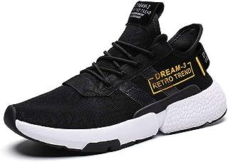 beautyjourneylove Scarpe Uomo Sportive estive Traspirante - Sneakers Uomo Scarpe Running Uomo Scarpe Ginnastica Uomo Escur...