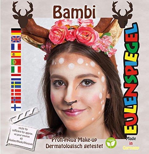 Eulenspiegel Motiv Set Bambi, Braun