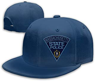 XMmanmz Massachusetts State Police Unisex Adjustable Truck Hat Dad Baseball Caps Driver Hat