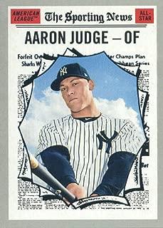 2019 Topps Heritage #356 Aaron Judge New York Yankees Baseball Card