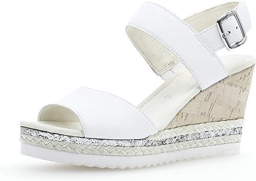 Gabor 25.790 Femme,Sandales compensées,Chaussures d'été,Confortable,Plat, d'été,Confortable,Plat,  acheter une marque