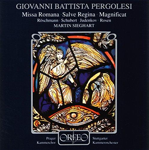 Pergolesi: Missa Romana / Salve Regina / Magnificat