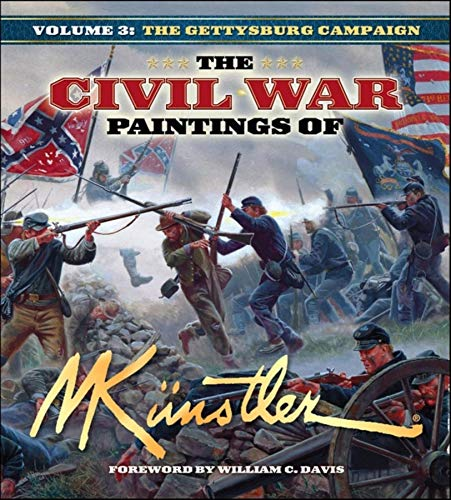 Download The Civil War Paintings of Mort Kunstler: Volume 3 1581825587
