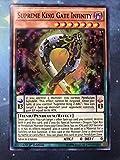 Yugioh 1st Ed Supreme King Gate Infinity MACR-EN018 Super Rare 1st Edition Maximum Crisis Cards