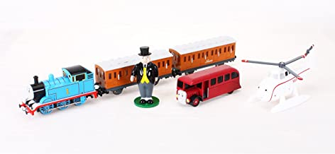 Bachmann Trains - Deluxe Thomas and Friends Special Ready To Run Electric Train Set - HO Scale