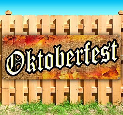 Oktoberfest Baltimore Mall 13 oz Banner Non-Fabric Vinyl Easy-to-use Heavy-Duty Single-